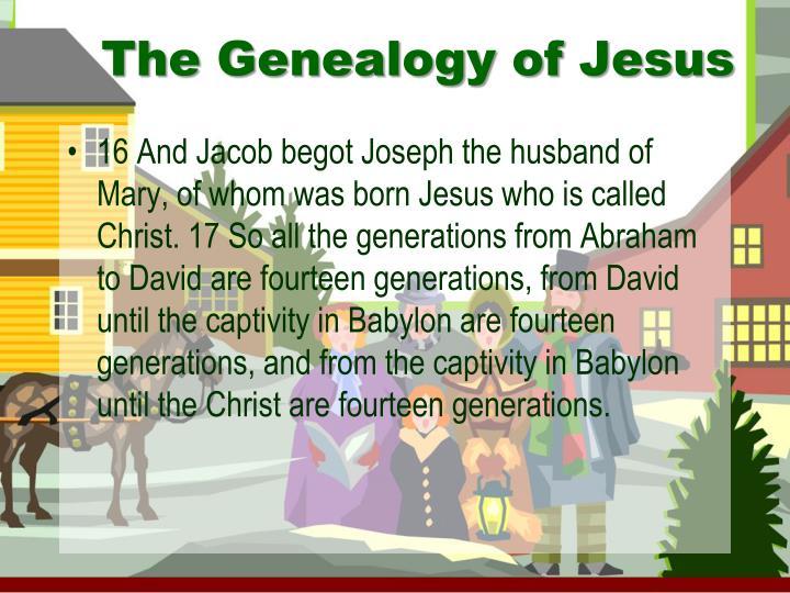 The Genealogy of Jesus