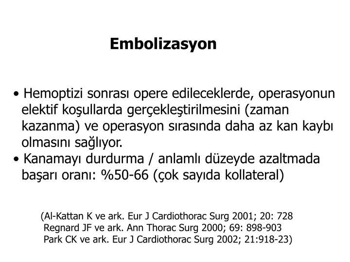 Embolizasyon