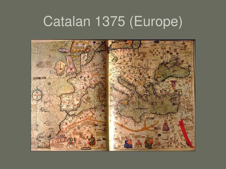 Catalan 1375 (Europe)