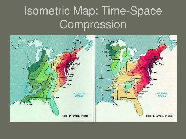 Isometric Map: Time-Space Compression