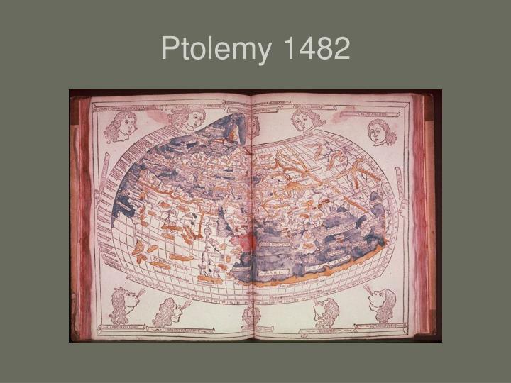 Ptolemy 1482