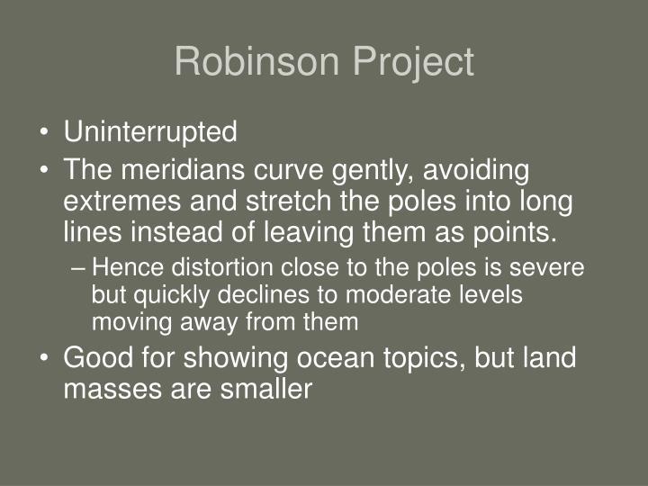 Robinson Project