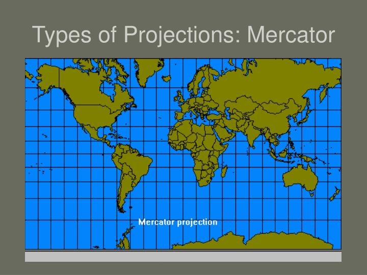 Types of Projections: Mercator