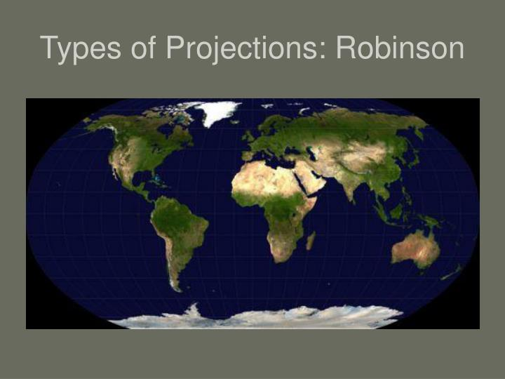 Types of Projections: Robinson