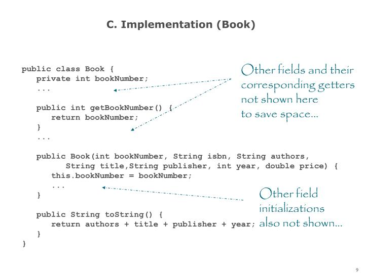 C. Implementation (Book)