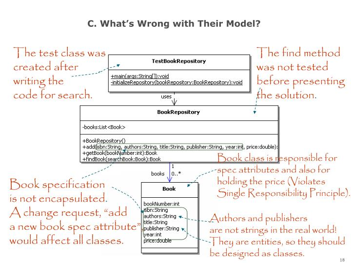 C. What's Wrong with Their Model?