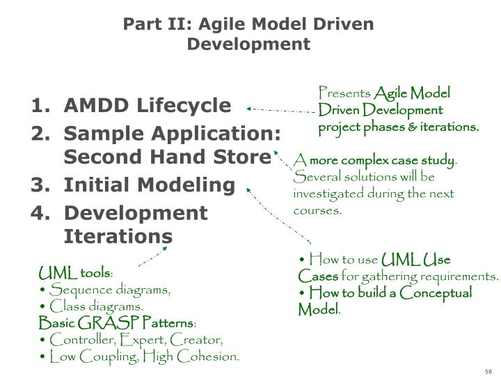 Part II: Agile Model Driven Development
