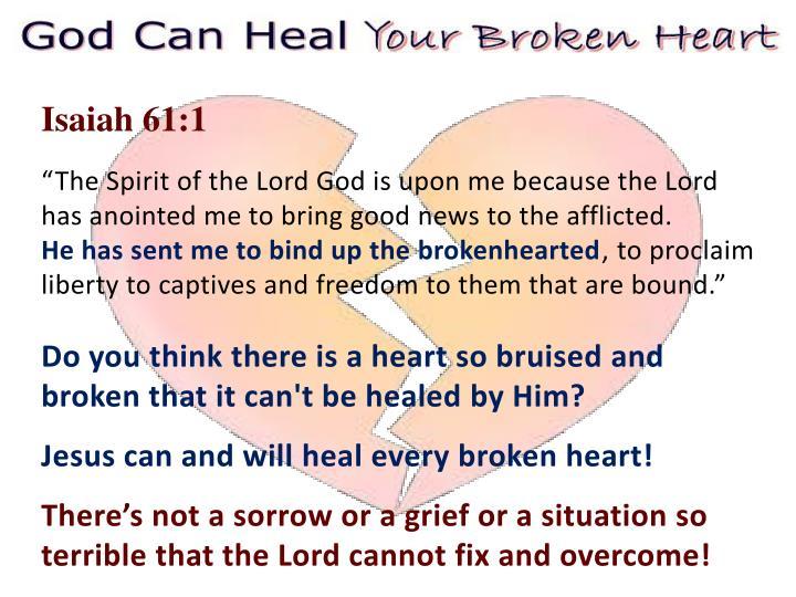 Isaiah 61:1