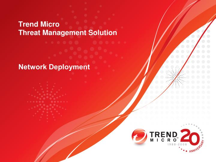 Trend micro threat management solution1