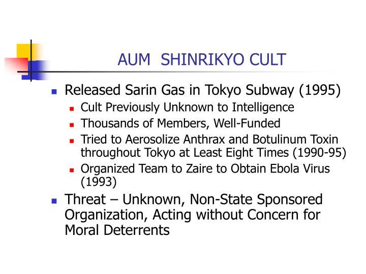 AUM  SHINRIKYO CULT