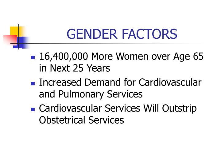 GENDER FACTORS