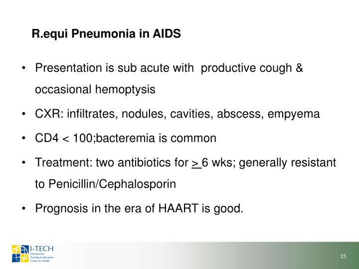R.equi Pneumonia in AIDS