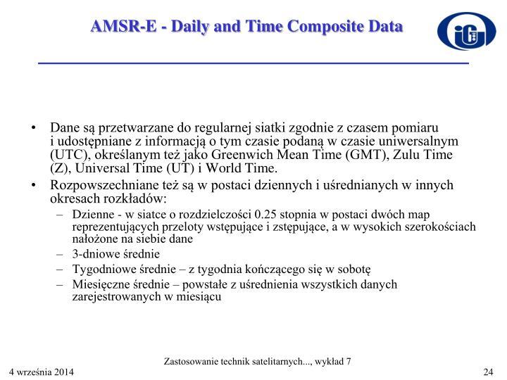 AMSR-E -