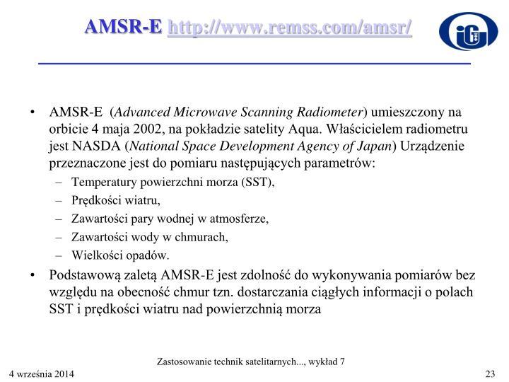 AMSR-E