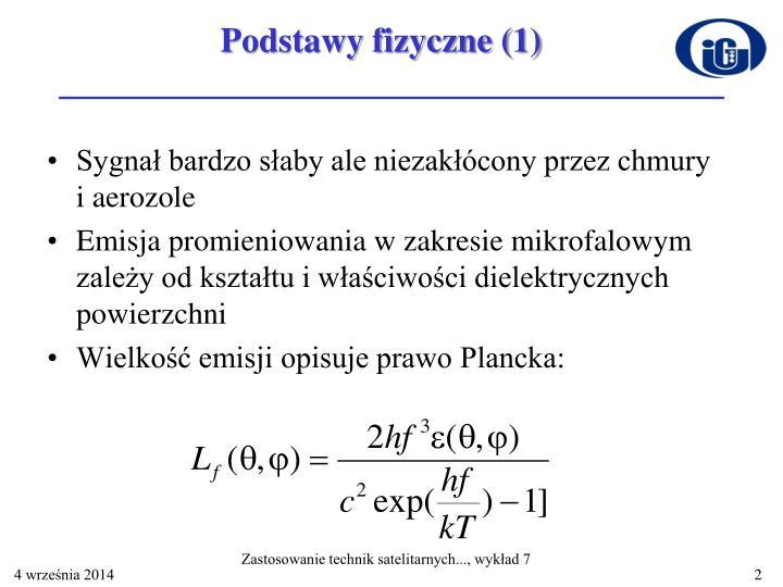 Podstawy fizyczne (1)