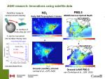 aqhi research innovations using satellite data