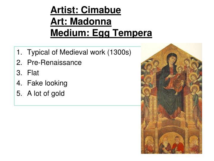 Artist: Cimabue
