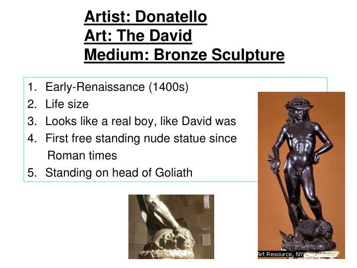 Artist: Donatello