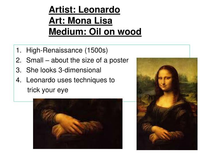 Artist: Leonardo