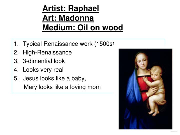 Artist: Raphael