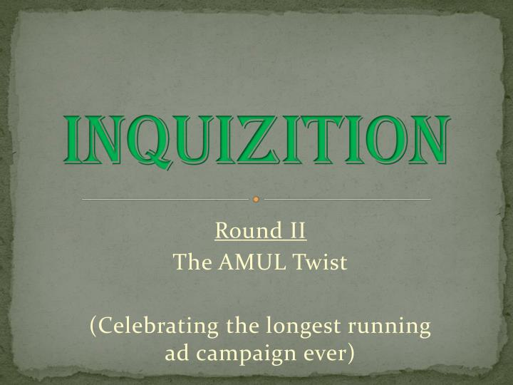 INQUIZITION