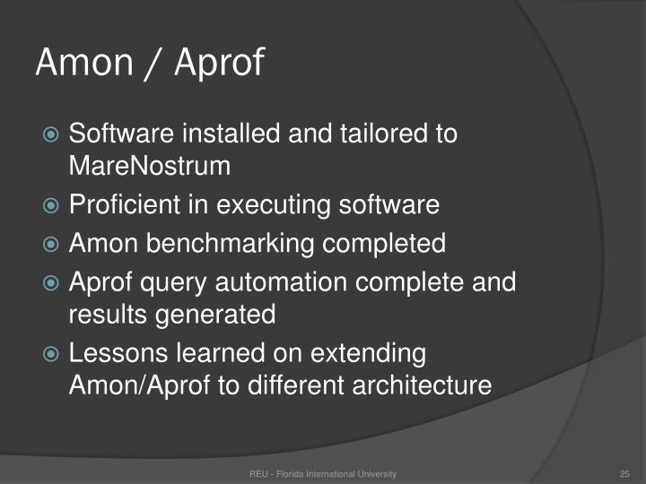 Amon / Aprof