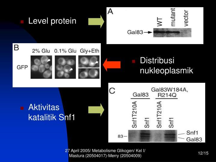 Level protein