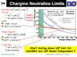 chargino neutralino limits