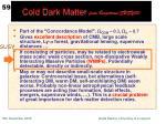 cold dark matter from bergstrom susy05