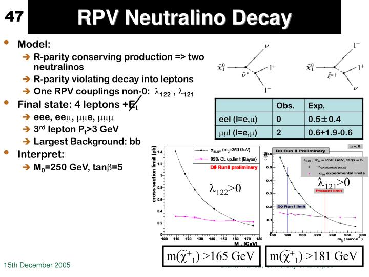 RPV Neutralino Decay