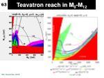 teavatron reach in m 0 m 12