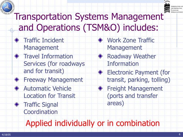 Traffic Incident Management