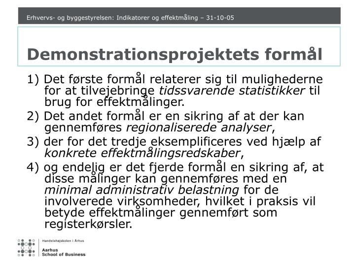 Erhvervs- og byggestyrelsen: Indikatorer og effektmåling – 31-10-05