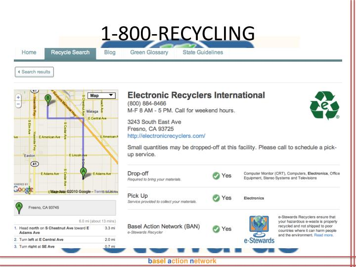 1-800-RECYCLING