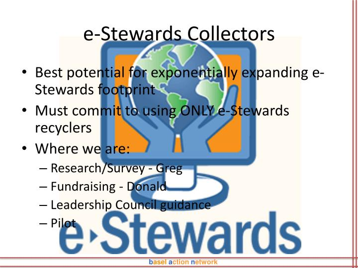 e-Stewards Collectors