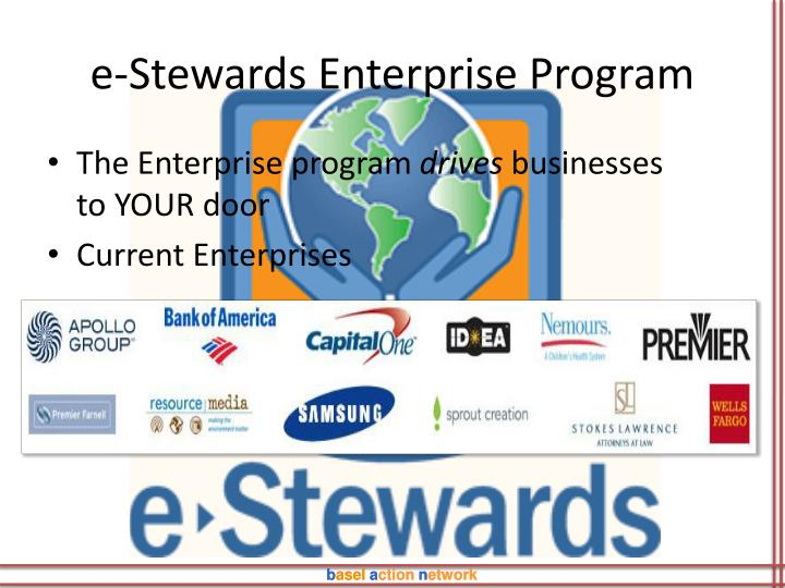 e-Stewards Enterprise Program