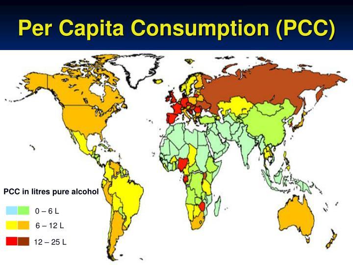Per Capita Consumption (PCC)