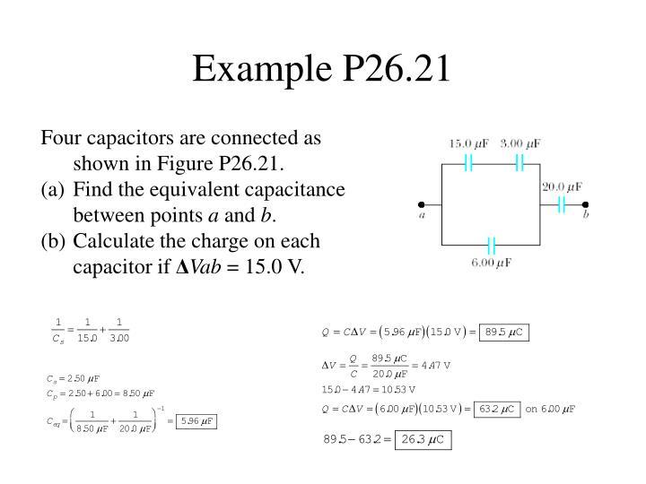 Example P26.21