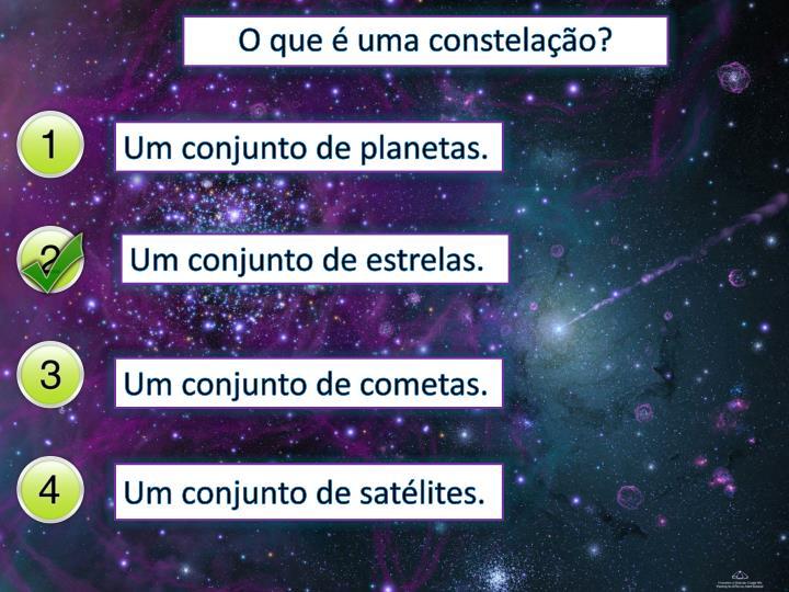 O que é uma constelação?