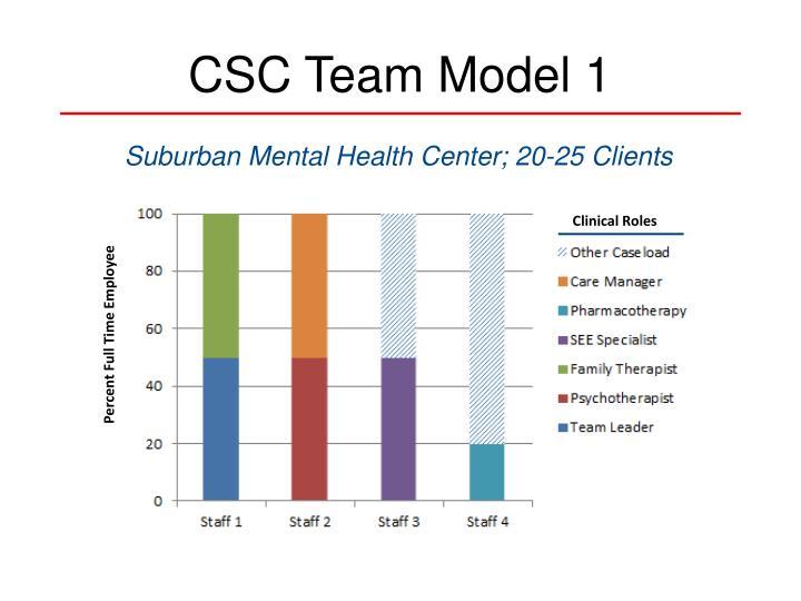 CSC Team Model 1