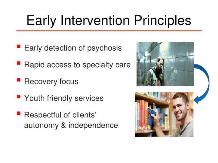 Early Intervention Principles