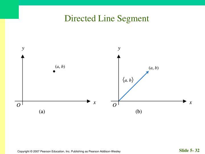 Directed Line Segment