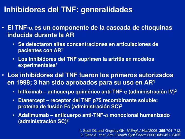 Inhibidores del TNF