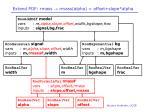 extend pdf rmass rmass alpha offset slope alpha