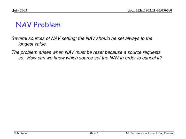 NAV Problem