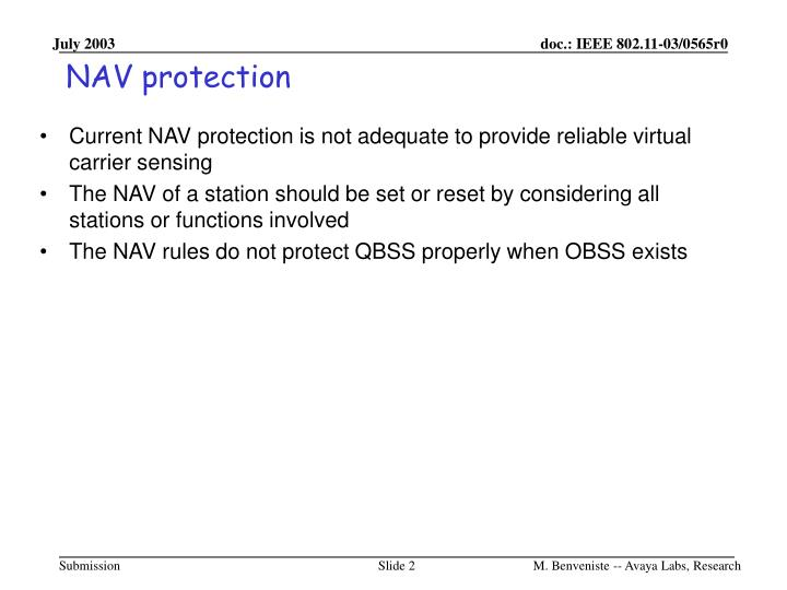Nav protection1