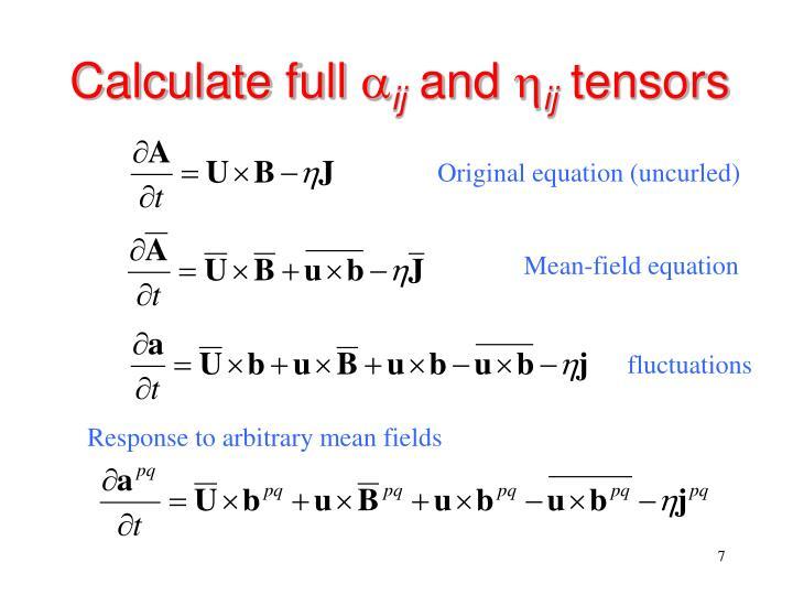 Calculate full