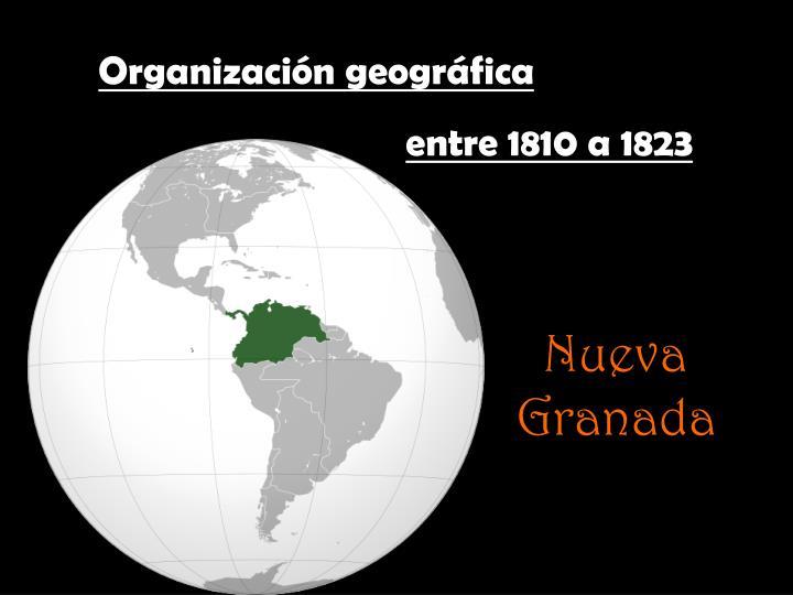 Organización geográfica