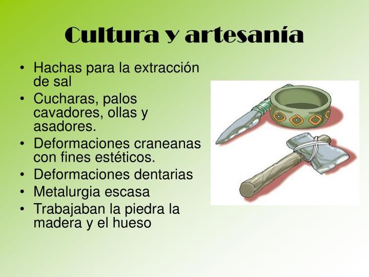 Cultura y artesanía