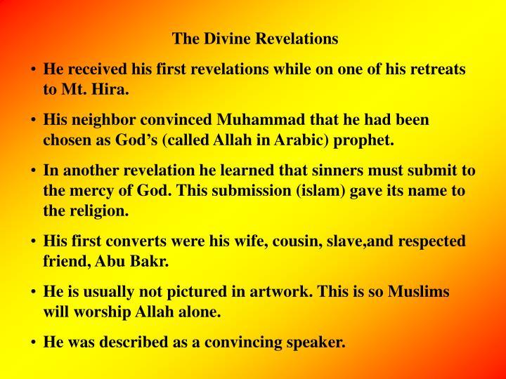 The Divine Revelations